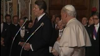 Download President Reagan speaks to American Seminary Students in Vatican City on June 7, 1982 Video
