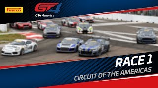 Download RACE 1 - COTA - Pirelli GT4 America - GT4X, GT4X East, GT4X West - LIVE Video