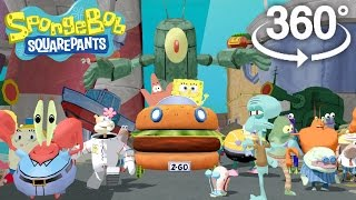 Download Spongebob Squarepants! - 360° Adventure Video! - (The First 3D VR Game Experience!) Video