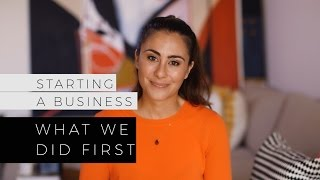 Download Starting A Business - What We Did First Video