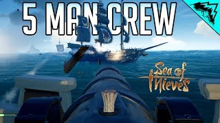 Download 5 MAN CREW? - Sea of Thieves Most Deadly Crew (SOT Funny Moments & Highlights) Video