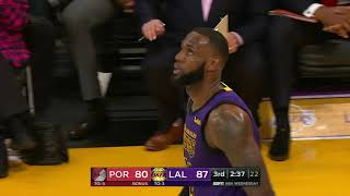 Download Portland Trailblazers vs Los Angeles Lakers | November 14, 2018 Video