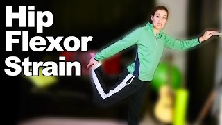 Download Hip Flexor Strain Stretches & Exercises - Ask Doctor Jo Video