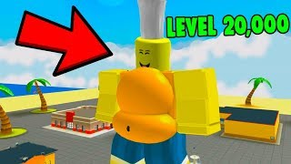 Download ROBLOX EATING SIMULATOR *FATTEST IN THE GAME* Video