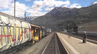 Download Führerstandsfahrt: Locarno - Arth-Goldau über den Gotthard (14. April 2016), Gotthard Eisenbahn Video