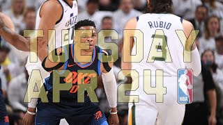 Download NBA Daily Show: Apr. 24 - The Starters Video