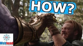 Download The REAL REASON Captain America Can Hold Back Thanos And The Infinity Gauntlet | Webhead Video