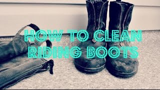 Download HOW TO | CLEAN RIDING BOOTS AND HALF CHAPS Video