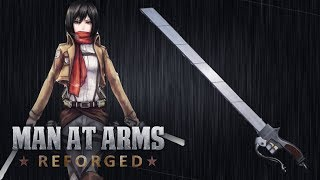 Download 3D Maneuver Gear Sword - Attack on Titan - MAN AT ARMS: REFORGED Video