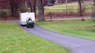 Download $18k John Deere 1025r w/Heavy Hitch, H120. 7,000 lb load. 20' trailer,John deere 1025r pulling Video