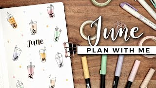 Download PLAN WITH ME | June 2019 Bullet Journal Setup Video