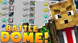 Download Minecraft OP WEAPONS AND GRAVITY GUNS MODDED BATTLEDOME CHALLENGE - Minecraft Mod Video
