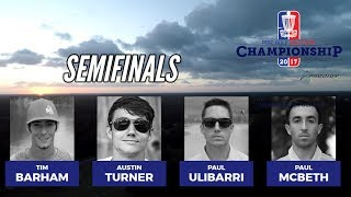 Download 2017 DGPT Championship hosted by Prodigy: Semifinals (McBeth, Ulibarri, Turner, Barham) Video