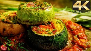 Download Epic Courgettes Recipe! - 4K Cooking Therapy Video
