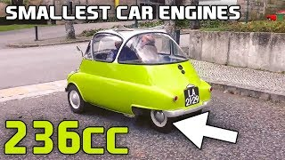 Download 12 Of The Smallest Engines Installed In Cars Video