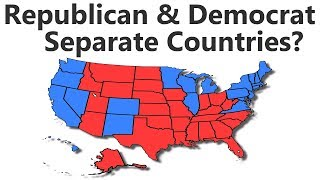 Download What If Republican and Democrat States Were Separate Countries? Video