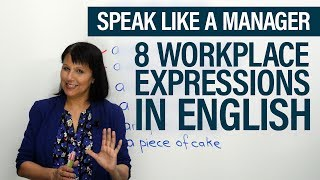 Download Speak like a Manager: 8 Easy Workplace Expressions Video