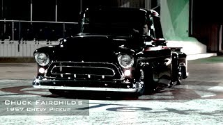 Download 1957 Chevy Pickup Running 12's At The Track Video