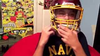 Download How to put a visor on a riddell speed flex Video