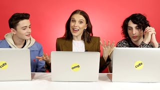 Download The ″Stranger Things″ Cast Finds Out Which Characters They Really Are Video