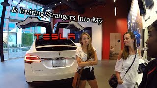 Download Converting a Model 3 Reservation Holder & Strangers in My Tesla! Video