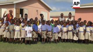 Download Prince Harry visits Barbuda, meets students Video