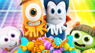 Download Cartoon | Spookiz 45 MINUTE COMPILATION | Funny Videos For Kids Video
