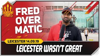 Download FLEX! FRED CHANGED THE GAME! Manchester United 1-0 Leicester Video