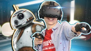 Download REPAIRING BB8 IN VIRTUAL REALITY! | Star Wars: Droid Repair Bay VR (HTC Vive Gameplay) Video