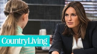 Download Mariska Hargitay Speaking of the Car Crash That Changed Her Life | Country Living Video