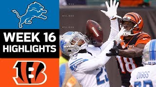 Download Lions vs. Bengals | NFL Week 16 Game Highlights Video