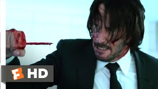 Download John Wick: Chapter 2 (2017) - Pencil Kill Scene (6/10) | Movieclips Video