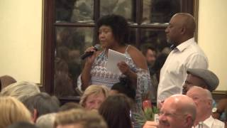 Download Woman tells Malema he has no authority to talk about land, he isn't Khoisan Video