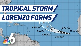 Download Tropical Storm Lorenzo Forms   NBC 6 Video