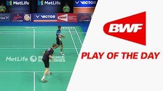 Download Play Of The Day | Badminton QF - Danisa Denmark Open 2017 Video