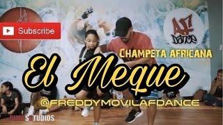 Download Champeta africana El meque skorpion disco show choreo @freddymovilafdance Video