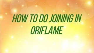 Download How To Do Joining In Oriflame Video