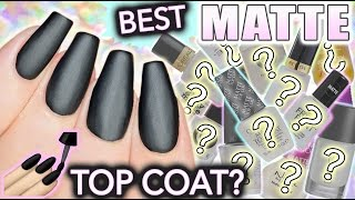 Download Best MATTE top coat for nails?! Video