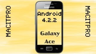 Download Android 4.2.2 auf Galaxy Ace [HD] Video