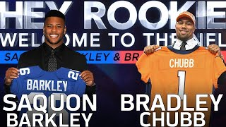 Download Saquon Barkley & Bradley Chubb's Journey from Combine Prep to the 2018 NFL Draft | Hey Rookie | NFLN Video