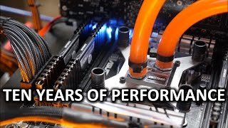 Download TEN YEARS of Water Cooling Performance Tested! - Through The Ages Ep. 1 Video