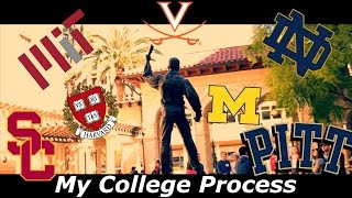 Download My College Process [with Reactions] (Accepted to 20+ Universities) Video