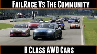 Download FailRace Vs The Community B Class AWD Cars Video