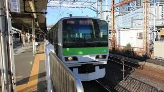 Download JR山手線 品川駅のE231系500番台 JR Yamanote Line Shinagawa Station (2018.2) Video
