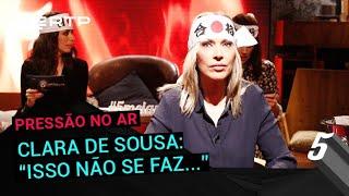 Download Clara de Sousa: ″Isso não se faz...″ | 5 Para a Meia-Noite | RTP Video