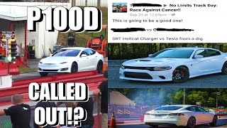 Download Tesla P100D Called Out by 900HP HELLCAT!? + Nitrous Corvette & Truck Drag Racing Video