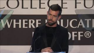 Download Jack Dorsey Accepts CEO of the Year Award Video