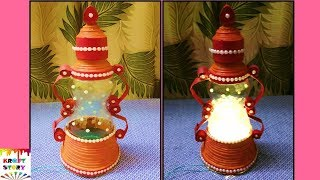 Download Plastic bottle craft idea |best out of waste | Newspaper craft idea Video