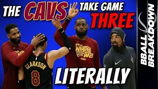 Download CAVALIERS Take Game THREE Literally Video