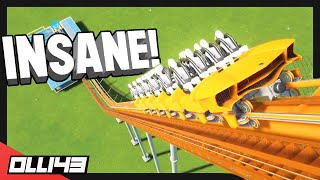 Download When you decide to build something ridiculous with the new Planet Coaster roller coaster.. Video